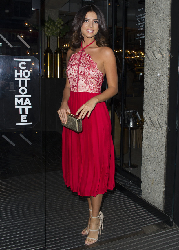 Lucy Mecklenburgh host launch party for her new Pretty Little Thing range - 1 October 2015.