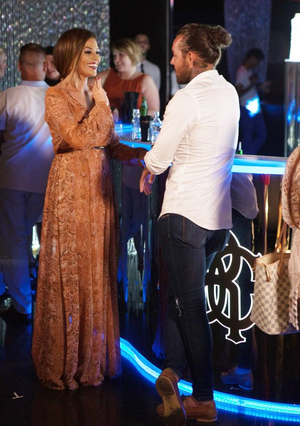 Jessica Wright and Peter Wicks, Cavalli Club, Marbella 25 September