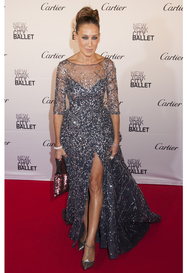 Sarah Jessica Parker at the New York Ballet Gala, 1st October 2015