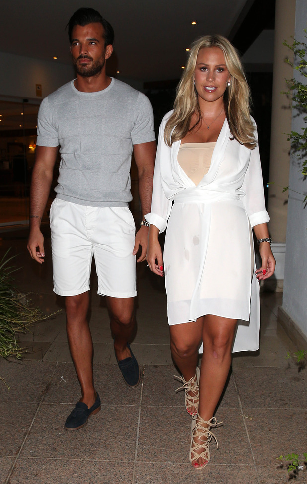 Kate Wright and Michael Hassini out and about in Marbella, 28th September 2015