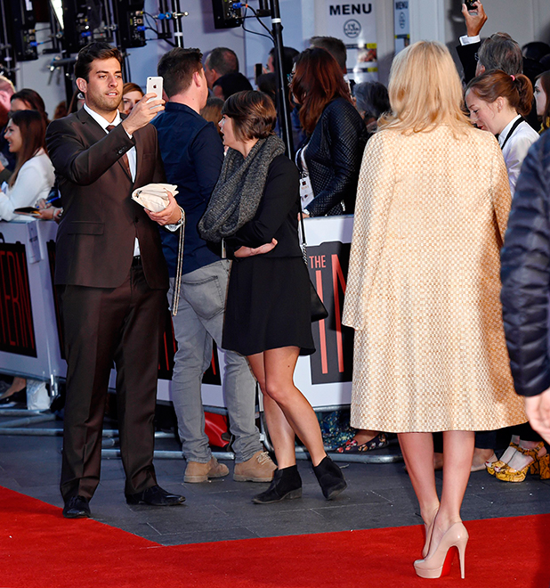The Intern' film premiere Lydia Bright and James 'Arg' Argent 27 Oct 2015