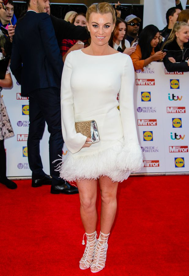 Pride of Britain Awards - arrivals at Grosvenor House Billi Mucklow, Andy Caroll
