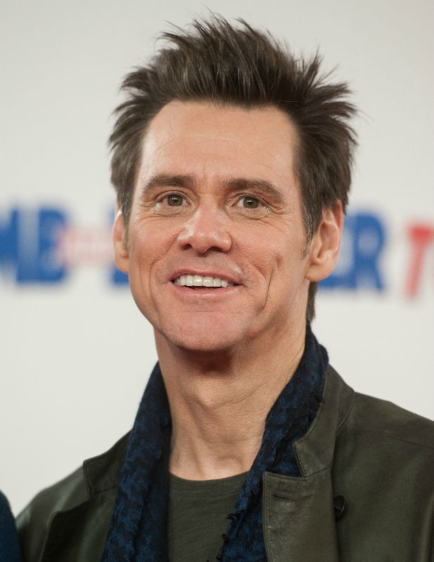 Dumb and Dumber To' photocall held at the Connaught Hotel Jim Carrey