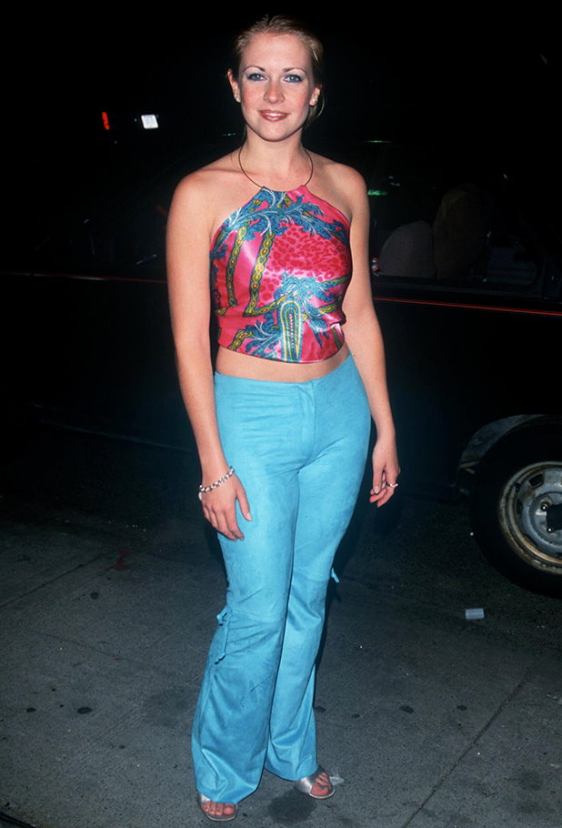 Melissa Joan Hart from 'Sabrina' at party for WB network to present their Fall 2000 TV line-up in New York City. 05/16/00 Photo by Evan Agostini/ImageDirect