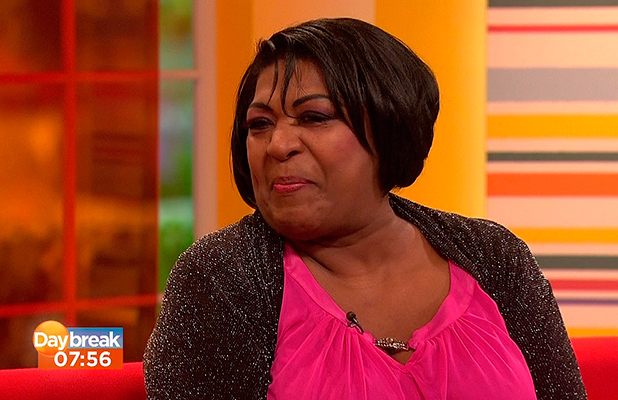Chef Rustie Lee appears on 'Daybreak' to talk about starring in 'Benidorm' shown on ITV1 HD