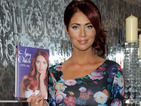 Amy Childs has three outfit changes to promote brand new book!