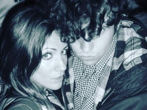 Nick Grimshaw sports a perm in Caroline Flack's throwback photo!