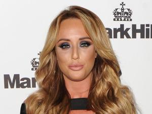Charlotte Crosby makes a glam brand ambassador at Mark Hill Hair launch!