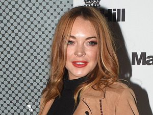Lindsay Lohan at Mark Hill Hair launch party in London 7th October 2015