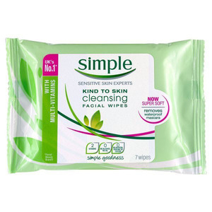 Simple Facial Wipes £1.49, 6th October 2015