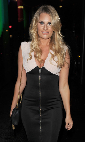 Danielle Armstrong out and about in Soho - 6 October 2015.