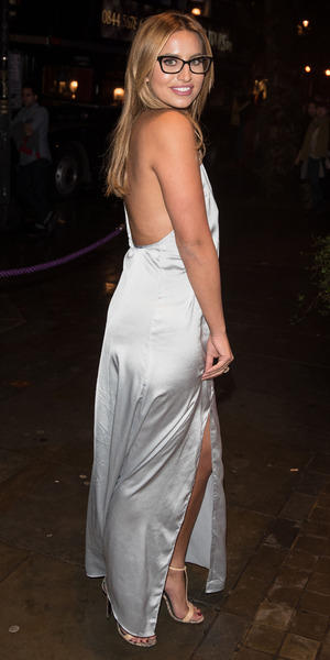 Ferne McCann at Specsavers' Spectacle Wearer of the Year held at 8 Northumberland Avenue, London 6 October