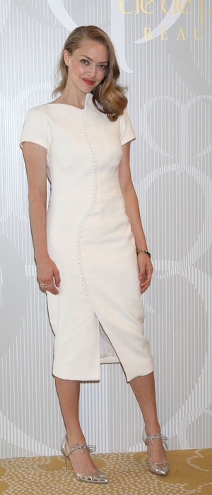 Amanda Seyfried launches Shiseido's newest skincare product in Tokyo Japa, 9th October 2015