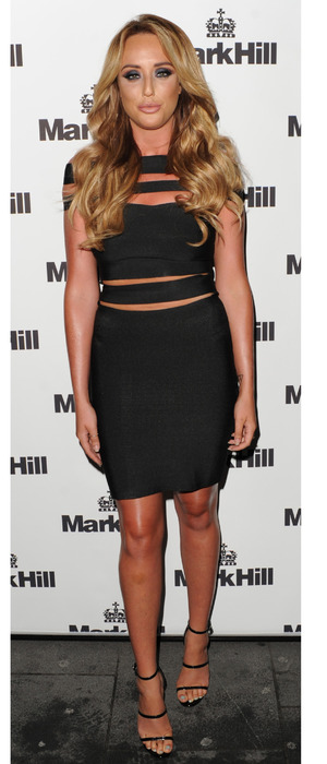Charlotte Crosby at Mark Hill Hair Launch party in London, 7th October 2015