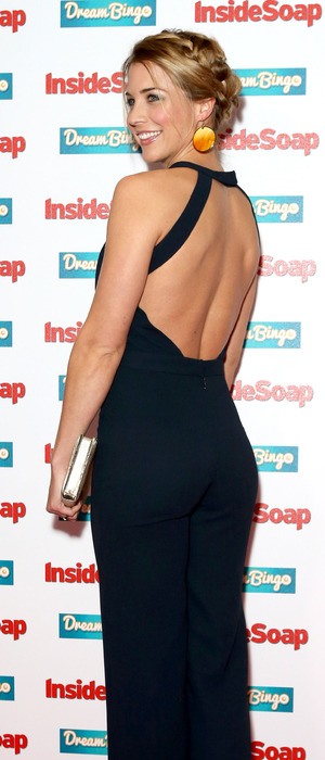 Gemma Atkinson at the Inside Soap Awards in London, 6th October 2015