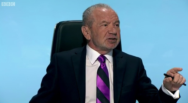 Lord Alan Sugar on Celebrity Apprentice - BBC - October 2014.