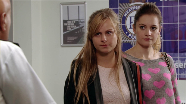 Corrie, will Sarah go to the police? Fri 9 Oct