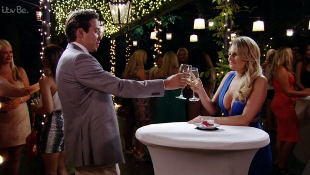 TOWIE's Danielle and Lockie chat over a drink in Marbella. Aired: Sunday 4 October 2015.