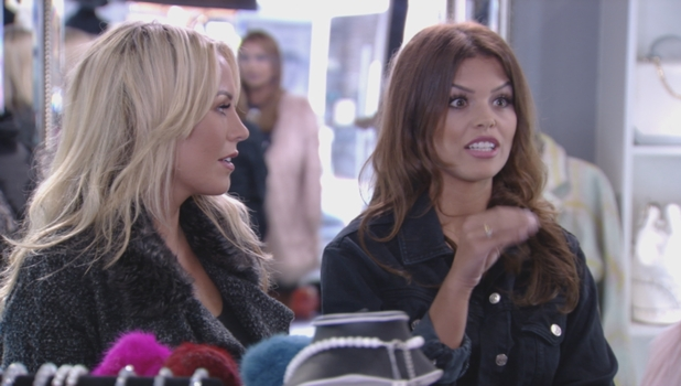 Ferne McCann and Chloe Lewis come to blows in TOWIE, 11 October 2015