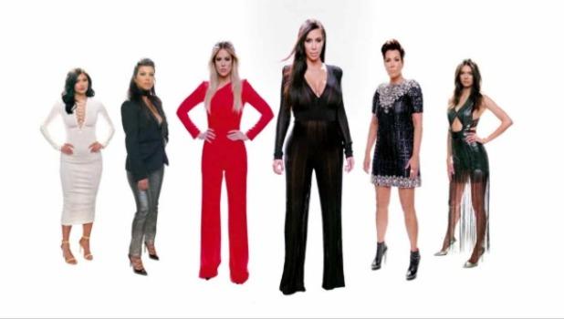 The Kardashians unveil new stylised promo for KUWTK 11, 10 October 2015.