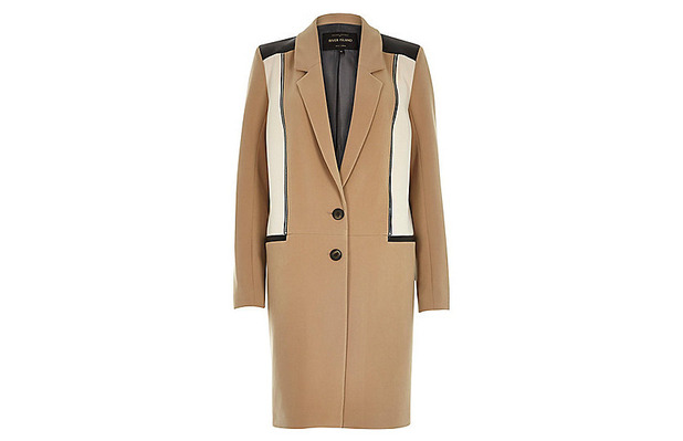 Camel Coat, River Island £90, 6th October 2015