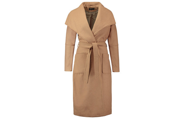 Camel Coat, Only at Zalando £75, 6th October 2015