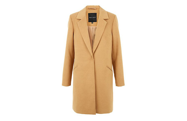 Camel Coat, New Look £29.99, 6th October 2015