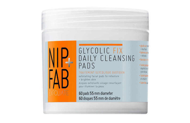 NIP + FAB Glycolic Fix Daily Cleansing Pads £12.95, 9th October 2015