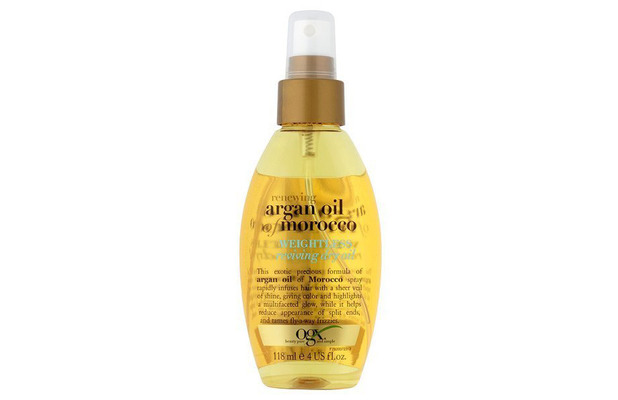 OGX Argan Oil of Morocco Weightless Dry Oil £6.99, 6th October 2015