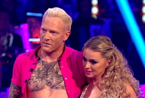 Ola Jordan and Iwan Thomas, Strictly Come Dancing 4 October
