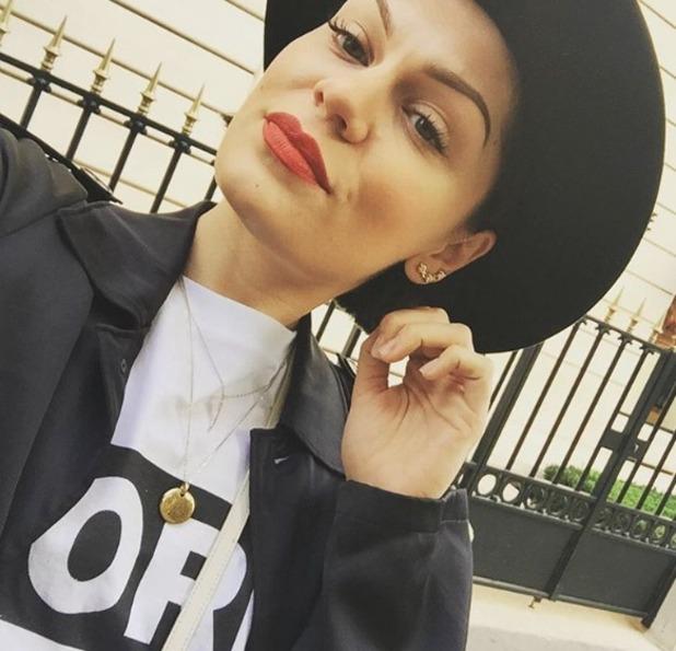 Jessie J selfie, 30 Septembber 2015