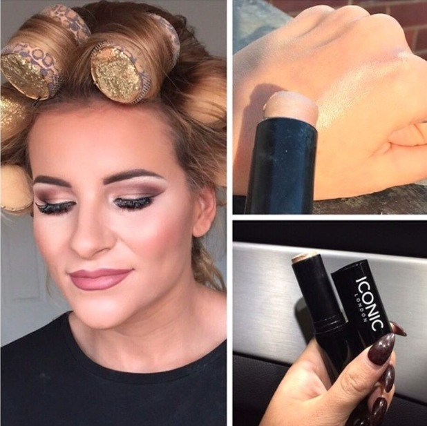 TOWIE's Georgia Kousoulou reveals strobing trick on Instagram 8th October 2015