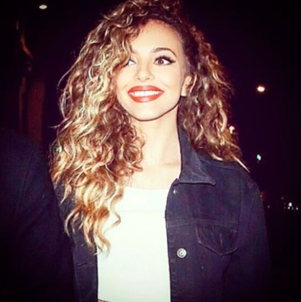 Little Mix's Jade Thirlwall embracing natural curls on Instagram, 6th October 2015