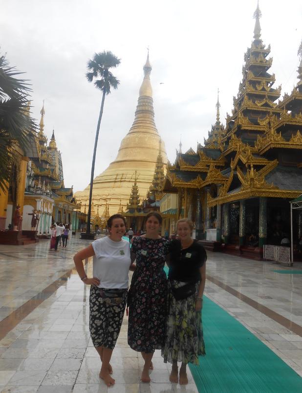 The Shwedagon Paya, Yangon, Myanmar. 5/10/15