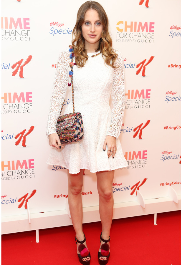Rosie Fortescue at the Bring Back Colour event in London, 8th October 2015