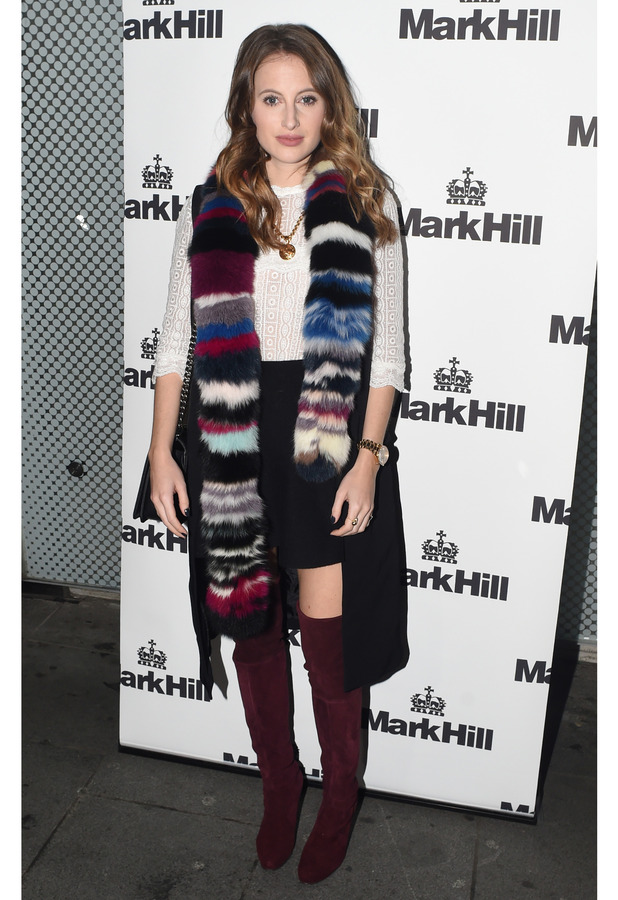 Rosie Fortescue at Mark Hill Hair launch in London, 7th October 2015