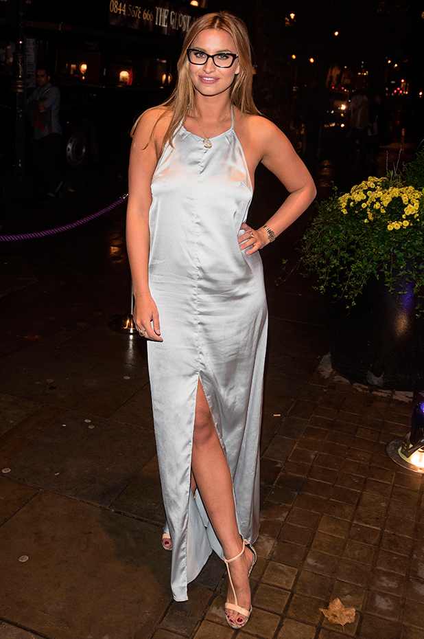 Specsavers' Spectacle Wearer of the Year held at 8 Northumberland Avenue. Ferne McCann