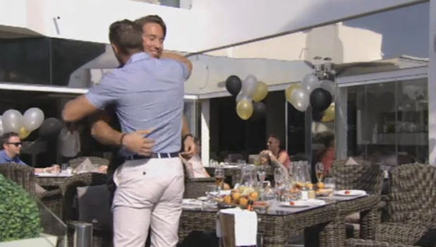 TOWIE deleted scene: Lockie and Elliott make up