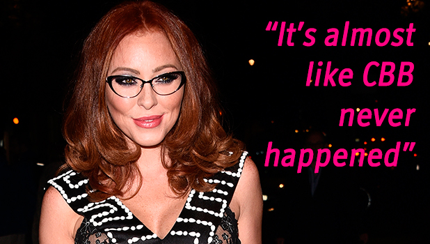 Natasha Hamilton attends Specsavers Spectacle Wearer of the Year Awards at 8 Northumberland Avenue 6 October