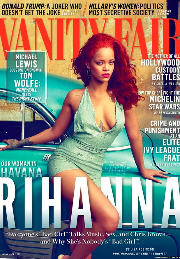 Rihanna's Vanity Fair interview