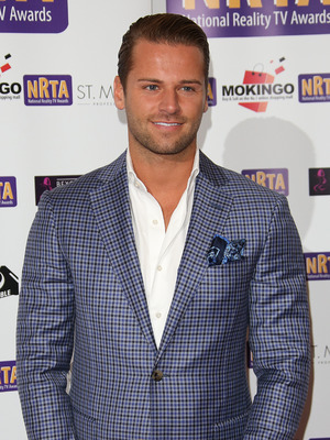 James Hill at the National Reality TV Awards (NRTA) 2015 held at the Porchester Hall - 30 September 2015.