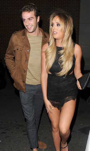 Charlotte Crosby and Max Morley 16 October