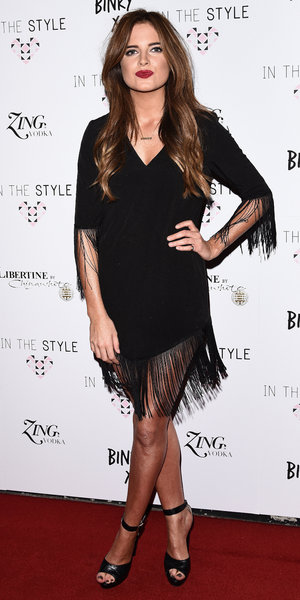 Binky Felstead at her fashion launch for In The Style collection, London 16 October