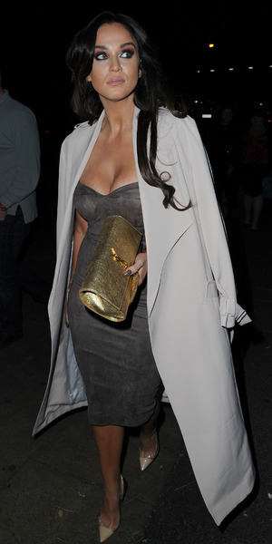 Vicky Pattison enjoys night out in Manchester, 17 October 2015