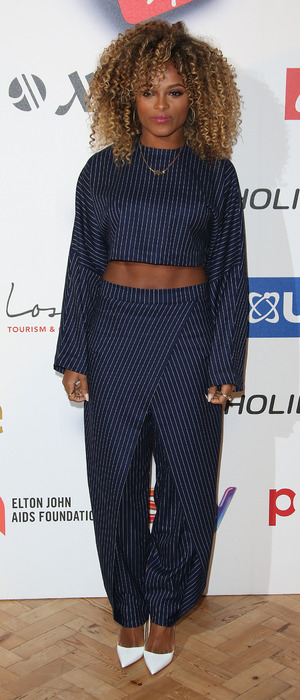 Fleur East at the 2015 Attitude Awards in London, 15th October 2015