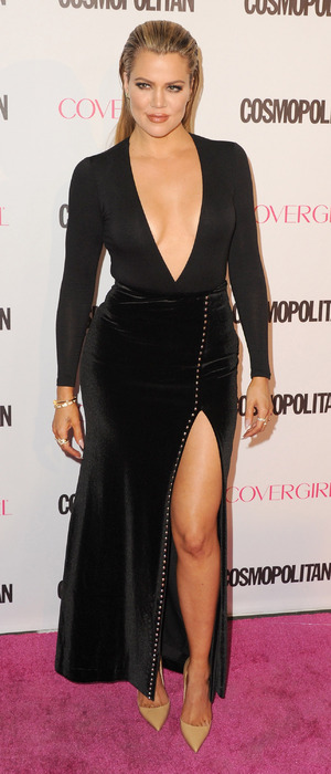 Khloe Kardashian at Cosmopolitan's 50th Anniversary/birthday party in Hollywood 13th October 2015