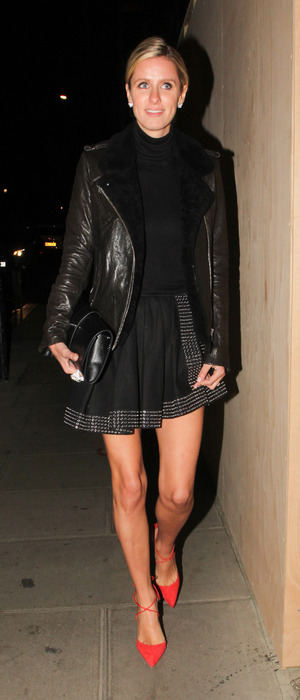 Nicky Hilton outside the Chiltern Firehouse in London, 15th October 2015