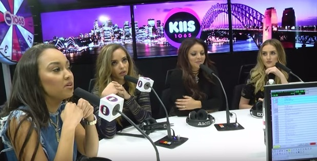 Little Mix storm out live radio show Kiss 1065 for a prank, 14th October 2015