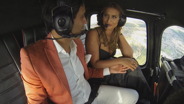 TOWIE: Liam Blackwell goes on a date with Ferne McCann. Episode: Weds 14 October 2015.
