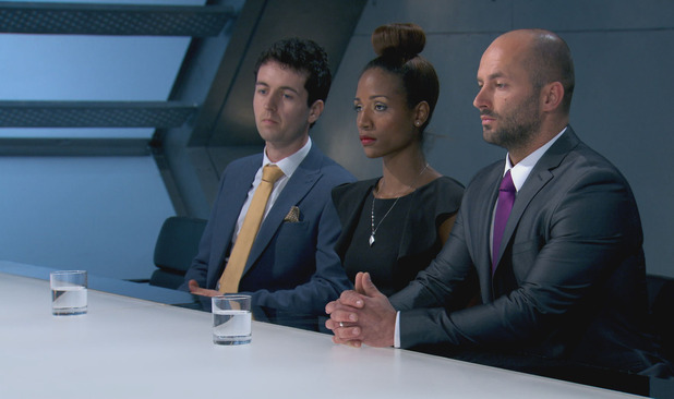 Dan Callaghan gets fired in the first week of The Apprentice. 14 October 2015.